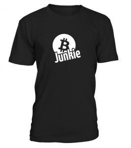 T-Shirt Bitcoin Junkie