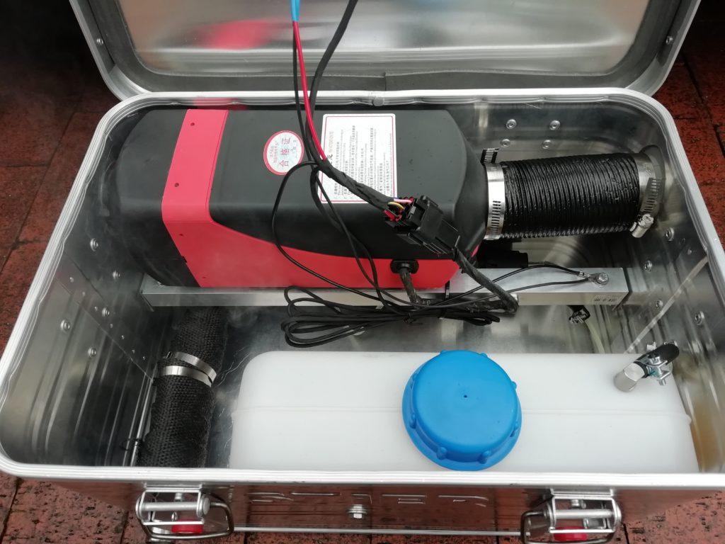 Dieselheizung in Alubox