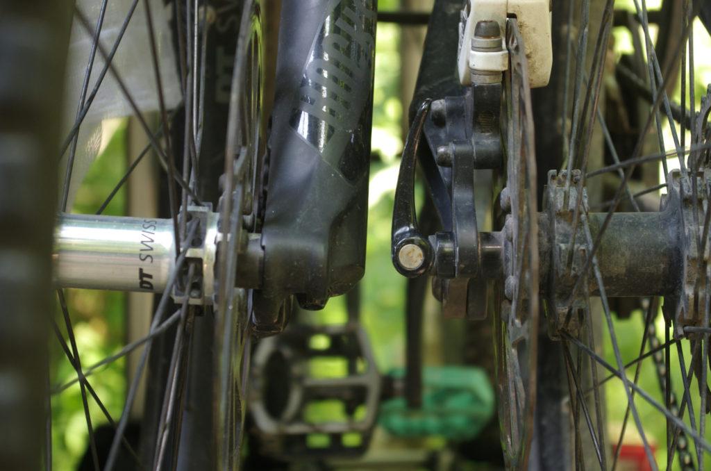 Uebler i21 Abstand zwischen Fahrräder